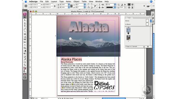 Checking bleeds: InDesign CS3 Prepress Essentials