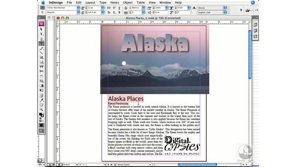 Checking document dimensions: InDesign CS3 Prepress Essentials
