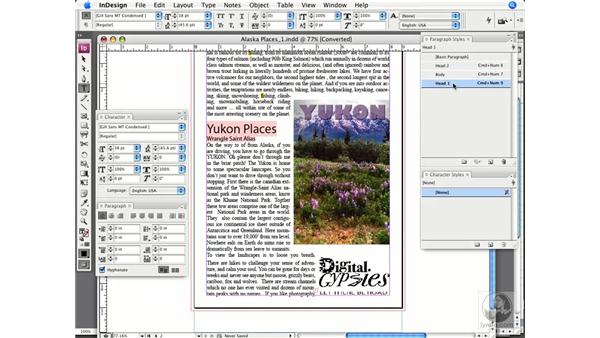 Checking for font substitution, usage, and links: InDesign CS3 Prepress Essentials