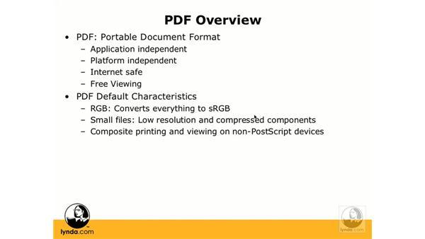 Overview of PDFs: InDesign CS3 Prepress Essentials
