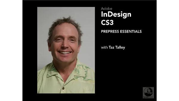 Goodbye: InDesign CS3 Prepress Essentials