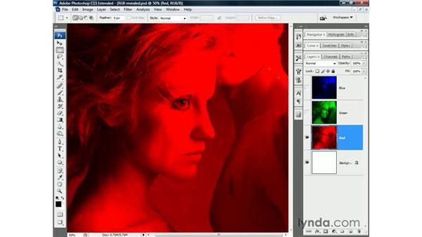 RGB color: Photoshop CS3 Channels and Masks: The Essentials