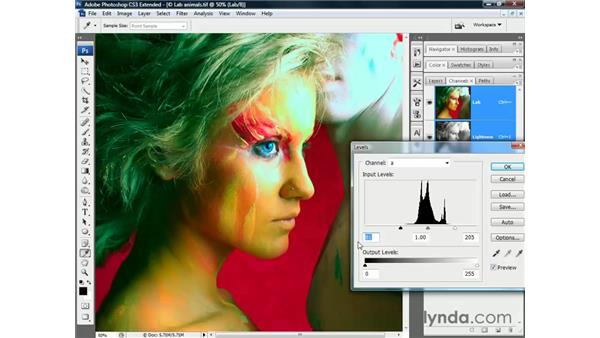 Lab color: Photoshop CS3 Channels and Masks: The Essentials