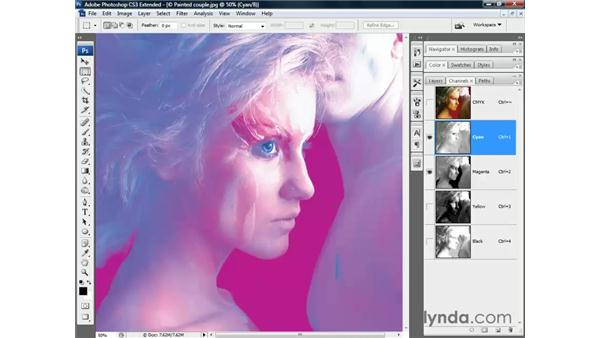 CMYK plates: Photoshop CS3 Channels and Masks: The Essentials
