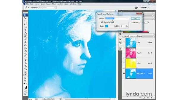 RGB to multichannel to CMYK (and back): Photoshop CS3 Channels and Masks: The Essentials