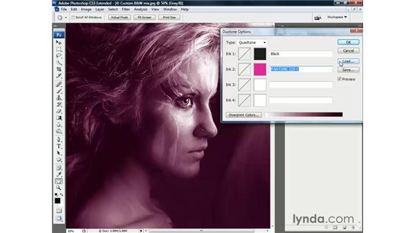 Duotones, tritones, and quadtones: Photoshop CS3 Channels and Masks: The Essentials
