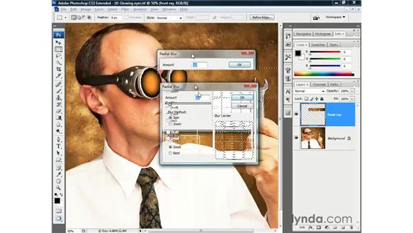 Using additional masks: Photoshop CS3 Channels and Masks: The Essentials