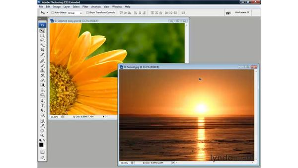 Dragging, dropping, and registering: Photoshop CS3 Channels and Masks: The Essentials