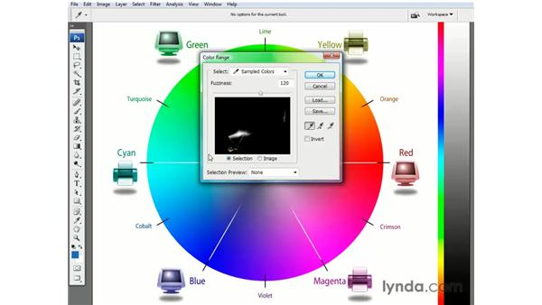 Primary colors and luminance ranges: Photoshop CS3 Channels and Masks: The Essentials