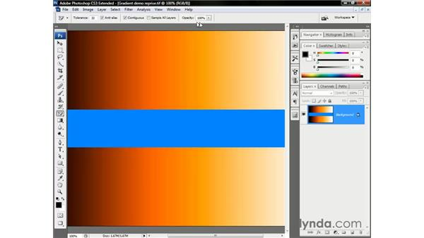 Meet the Magic Eraser tool: Photoshop CS3 Channels and Masks: The Essentials