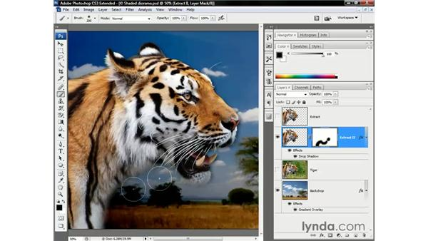 Cleaning up the rough edges: Photoshop CS3 Channels and Masks: The Essentials