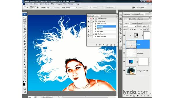 Testing your mask: Photoshop CS3 Channels and Masks: The Essentials