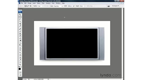 Setting the image in a $3000 frame: Photoshop CS3 Channels and Masks: The Essentials