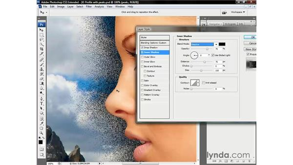 Cycling from one blend mode to the next: Photoshop CS3 Channels and Masks: The Essentials
