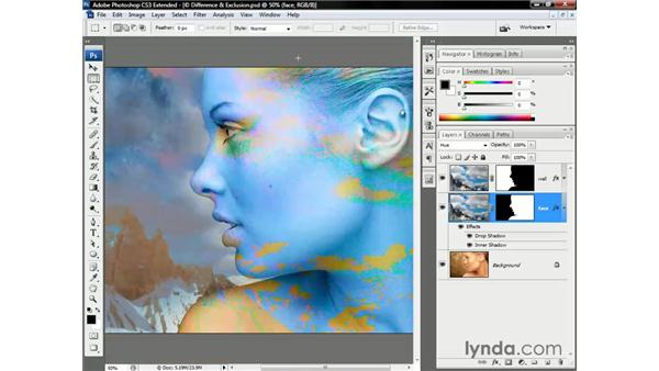 The four HSL modes: Photoshop CS3 Channels and Masks: The Essentials
