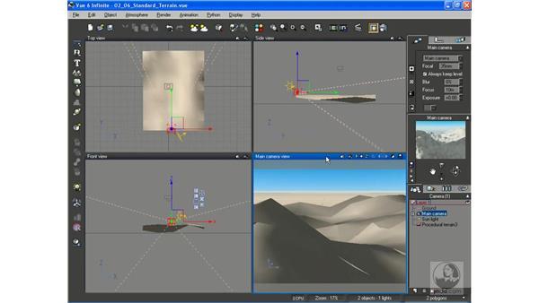Adding and editing procedural terrains: Vue 6 xStream Essential Training