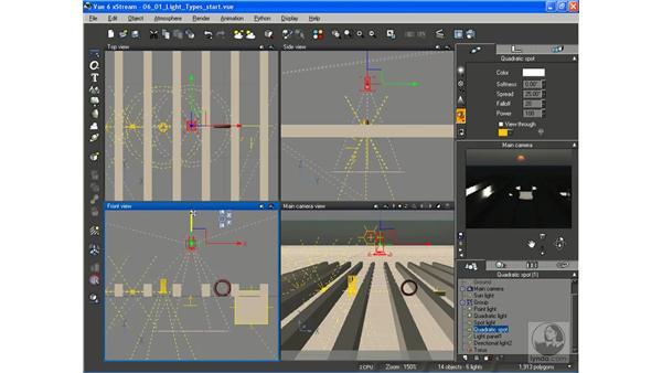 Light types: Vue 6 xStream Essential Training
