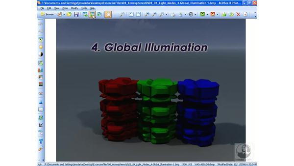 Comparing lighting models: Vue 6 xStream Essential Training