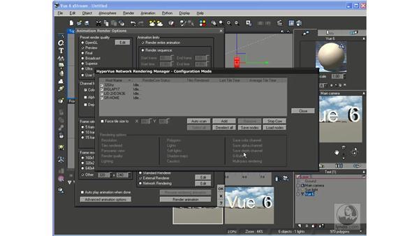 Rendering animation: Vue 6 xStream Essential Training