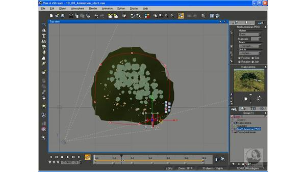Animating an airplane: Vue 6 xStream Essential Training