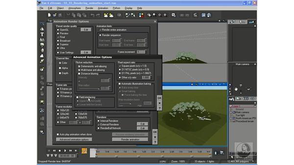 Rendering animation: Vue 6 xStream Essential Training
