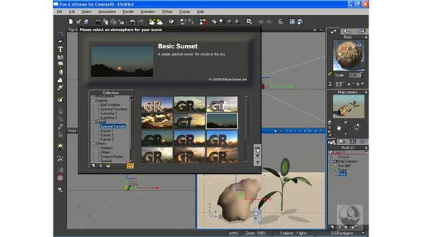 Using xStream with Cinema 4D: Vue 6 xStream Essential Training