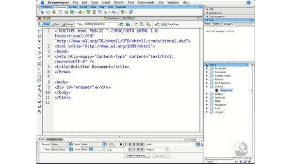 Using snippets and shortcuts: Dreamweaver CS3 Beyond the Basics