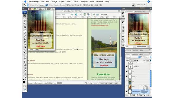 Round-trip editing with Photoshop CS3: Dreamweaver CS3 Beyond the Basics
