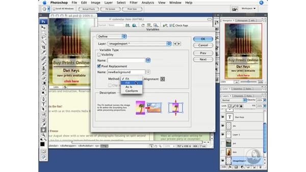 Leveraging image variables in Photoshop CS3: Dreamweaver CS3 Beyond the Basics