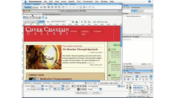Building navigation with CSS: Dreamweaver CS3 Beyond the Basics