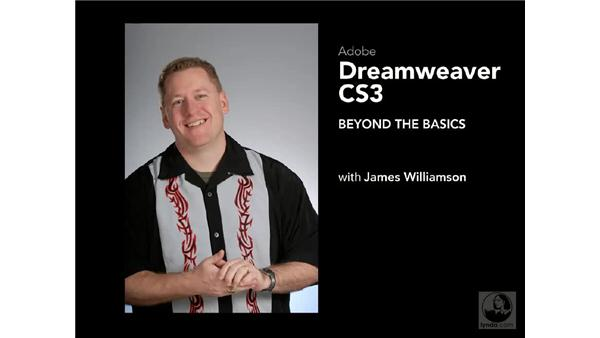 Goodbye: Dreamweaver CS3 Beyond the Basics