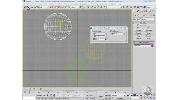 Aligning with precision: 3ds Max 9 Modeling