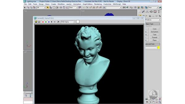 Using Lights to your advantage: 3ds Max 9 Modeling