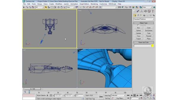 Using Cameras to your advantage: 3ds Max 9 Modeling