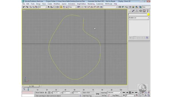 Extruding pitfalls: 3ds Max 9 Modeling