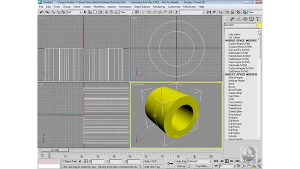 Nested shapes: 3ds Max 9 Modeling