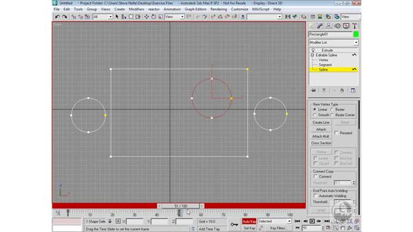 Animating nested shapes: 3ds Max 9 Modeling