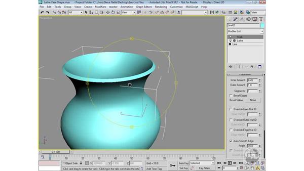 The Shell Modifier: 3ds Max 9 Modeling