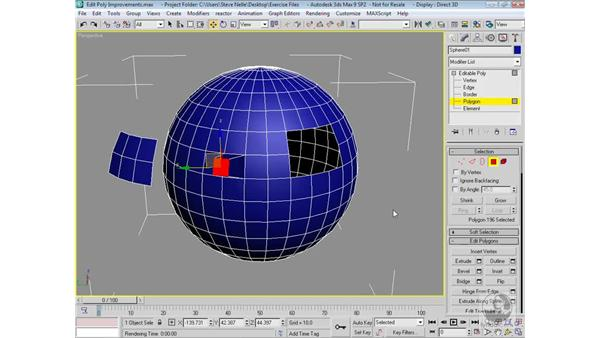 Edit Mesh vs. Edit Poly: 3ds Max 9 Modeling
