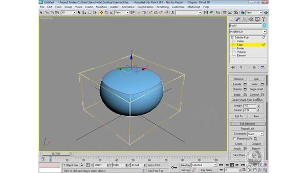 Subdivision surfaces: 3ds Max 9 Modeling