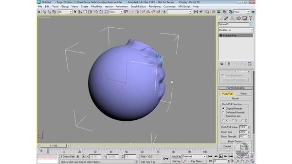 Deform Paint: 3ds Max 9 Modeling