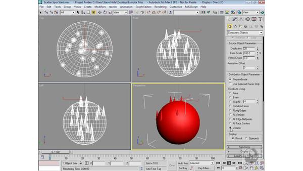 Scatter: 3ds Max 9 Modeling