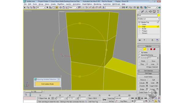 Modeling the boot: 3ds Max 9 Modeling