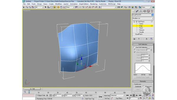 Introduction to patches: 3ds Max 9 Modeling