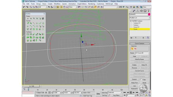 Modeling the tower: 3ds Max 9 Modeling