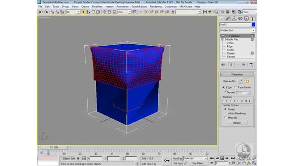 The Tessellate Modifier: 3ds Max 9 Modeling