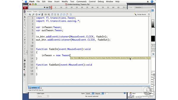 Understanding the Tween class: ActionScript 3.0 in Flash CS3 Professional Beyond the Basics