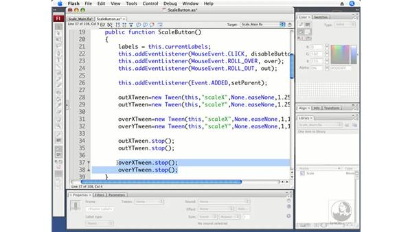 Creating a ScaleButton class: ActionScript 3.0 in Flash CS3 Professional Beyond the Basics