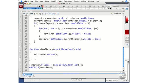 Loading full-sized pictures: ActionScript 3.0 in Flash CS3 Professional Beyond the Basics