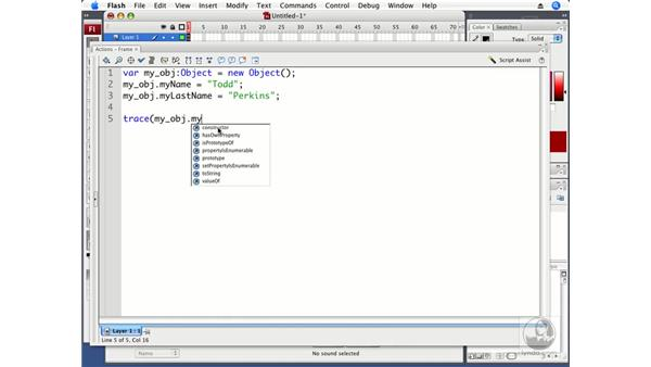 Understanding the Object class: ActionScript 3.0 in Flash CS3 Professional Beyond the Basics